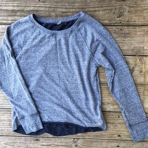 Athletic Sweater -Gray